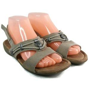 Minnetonka Silvie Sling Back 7 W Sandal
